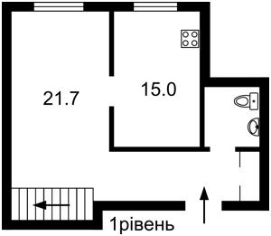 Квартира Гмирі Б., 1/2, Київ, R-34270 - Фото2