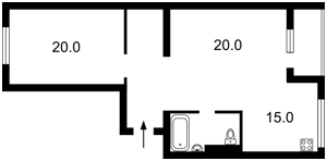 Apartment Kombinatna, 25а, Kyiv, X-26039 - Photo2