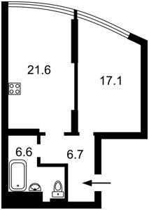 Квартира Победы просп., 26, Киев, Z-686532 - Фото2