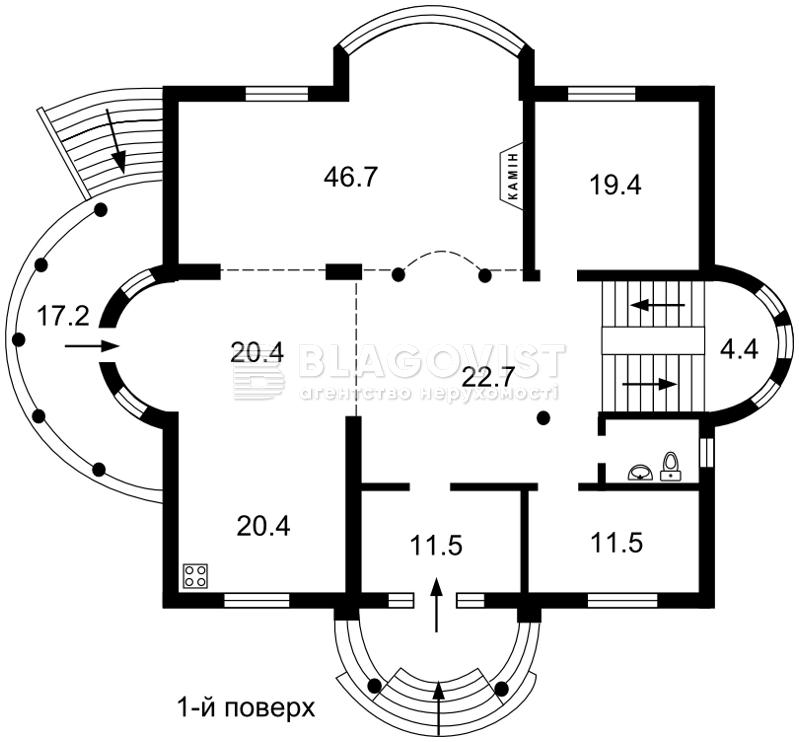 Дом Z-1726216, Ходосовка - Фото 5