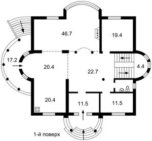 Будинок Ходосівка, Z-1726216 - Фото 3
