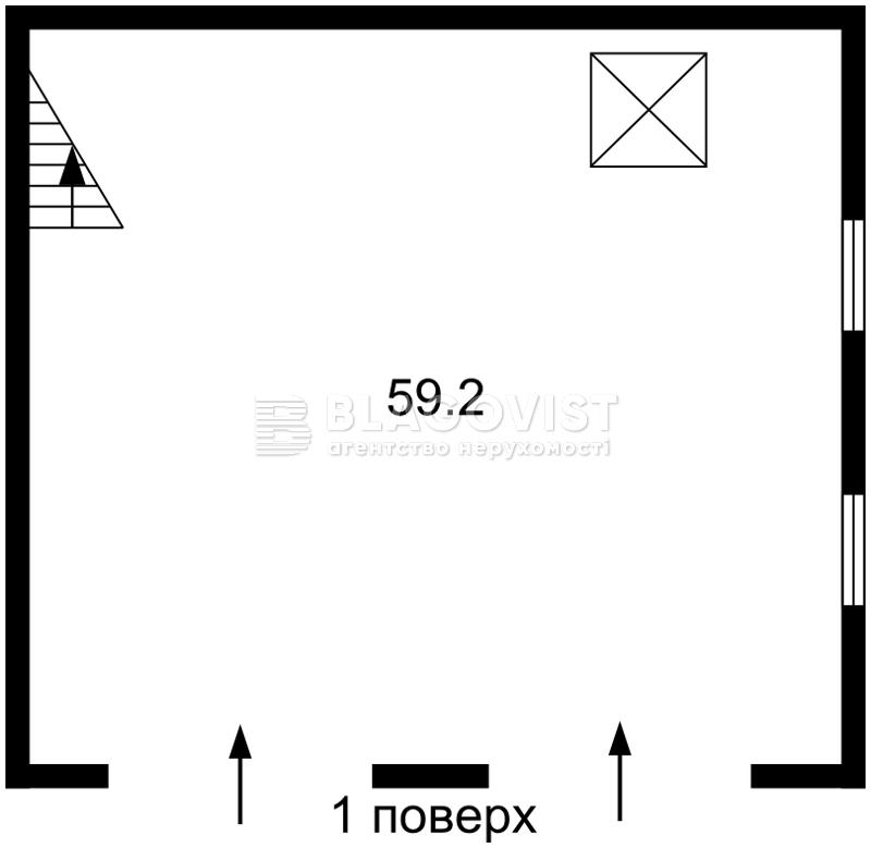 Нежилое помещение, E-39919, Большая Окружная, Петропавловская Борщаговка - Фото 3