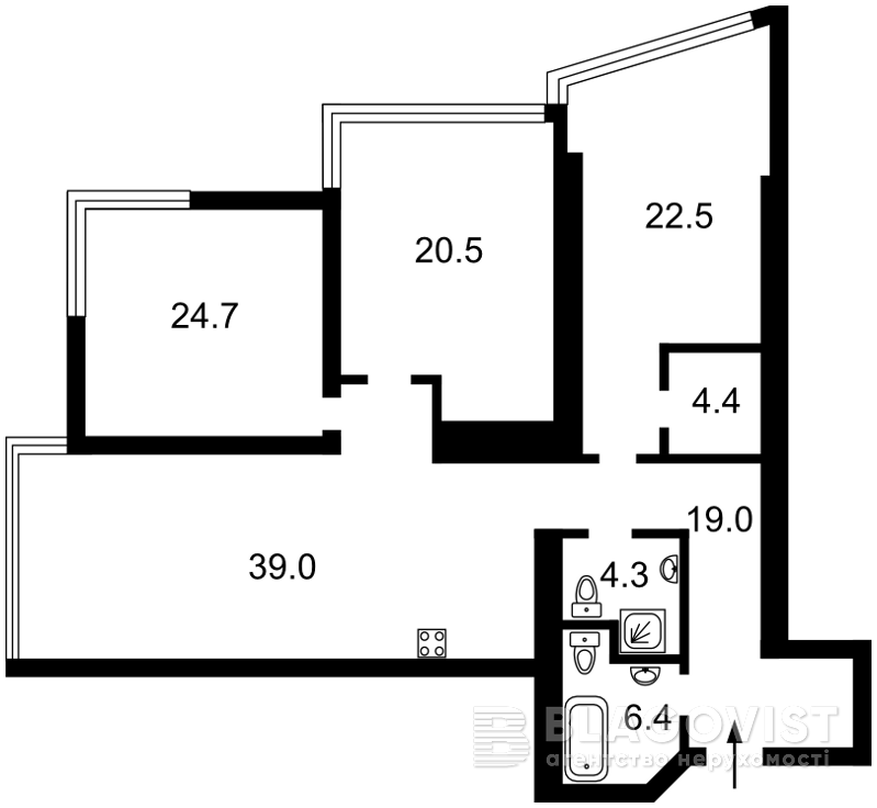 Квартира D-36436, Кловский спуск, 7, Киев - Фото 5