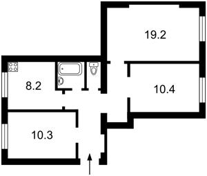 Квартира Сечевых Стрельцов (Артема), 79, Киев, Z-691136 - Фото2