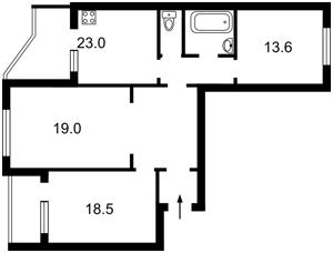 Квартира Котовського, 47, Київ, A-111418 - Фото 2