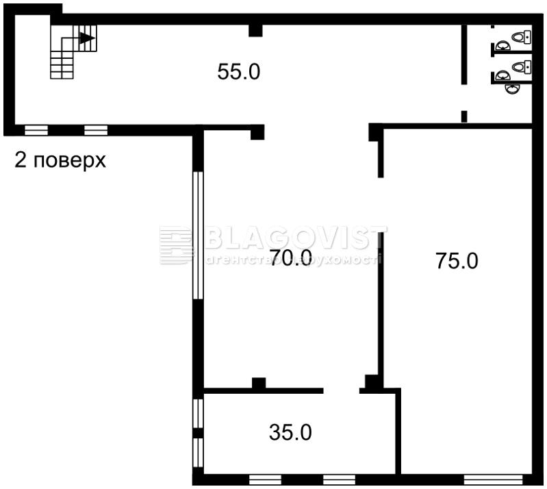 Нежилое помещение, Набережно-Крещатицкая, Киев, Z-332916 - Фото 3
