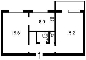 Apartment Biloruska, 13, Kyiv, X-6713 - Photo2