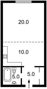 Apartment Zhylianska, 68, Kyiv, Z-690057 - Photo2