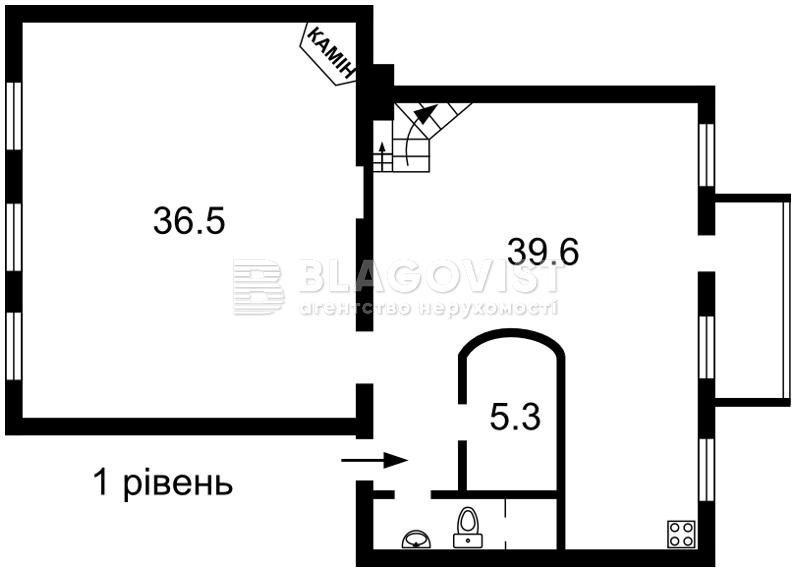 Квартира E-39961, Богомольца Академика, 7/14, Киев - Фото 4