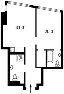 Квартира Деміївська, 29, Київ, H-47915 - Фото 2