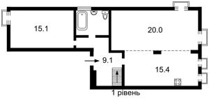 Квартира Липы Юрия, 6, Киев, R-34690 - Фото2
