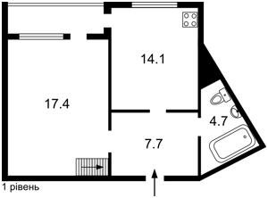 Квартира Леваневского, 9, Киев, Z-694238 - Фото2