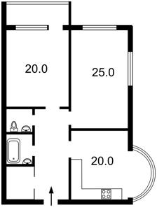 Квартира Шишкінський пров., 6-8, Київ, D-36496 - Фото 2