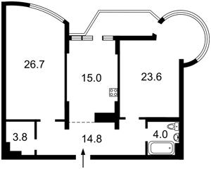 Квартира Z-589967, Харьковское шоссе, 19а, Киев - Фото 4