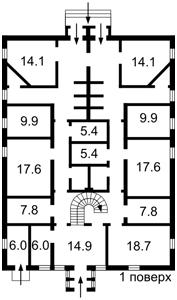 Нежитлове приміщення, Рильського Максима, Гореничі, D-36498 - Фото