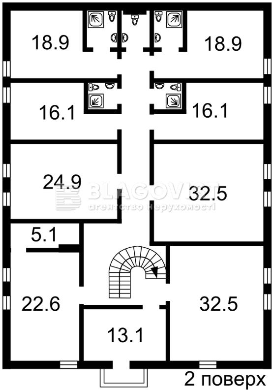 Нежитлове приміщення, D-36498, Рильського Максима, Гореничі - Фото 2