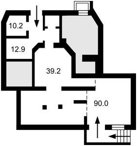 Нежилое помещение, E-40002, Пушкинская, Киев - Фото 3