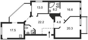 Квартира Шота Руставелі, 20б, Київ, A-111481 - Фото 2