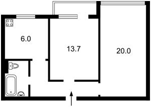 Квартира Русанівський бульв., 6, Київ, C-86192 - Фото 2
