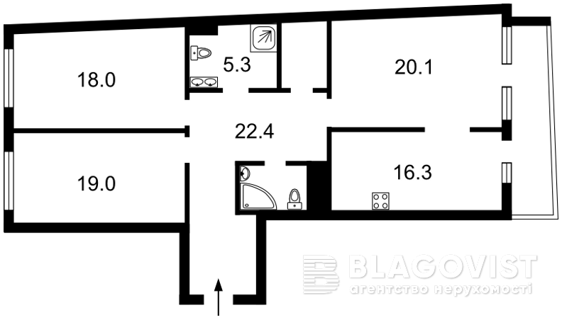 Квартира A-111367, Победы просп., 42, Киев - Фото 7