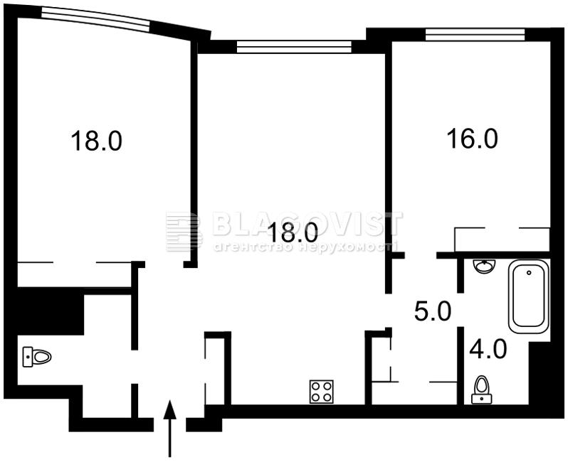 Квартира R-34960, Саперне поле, 3, Київ - Фото 5