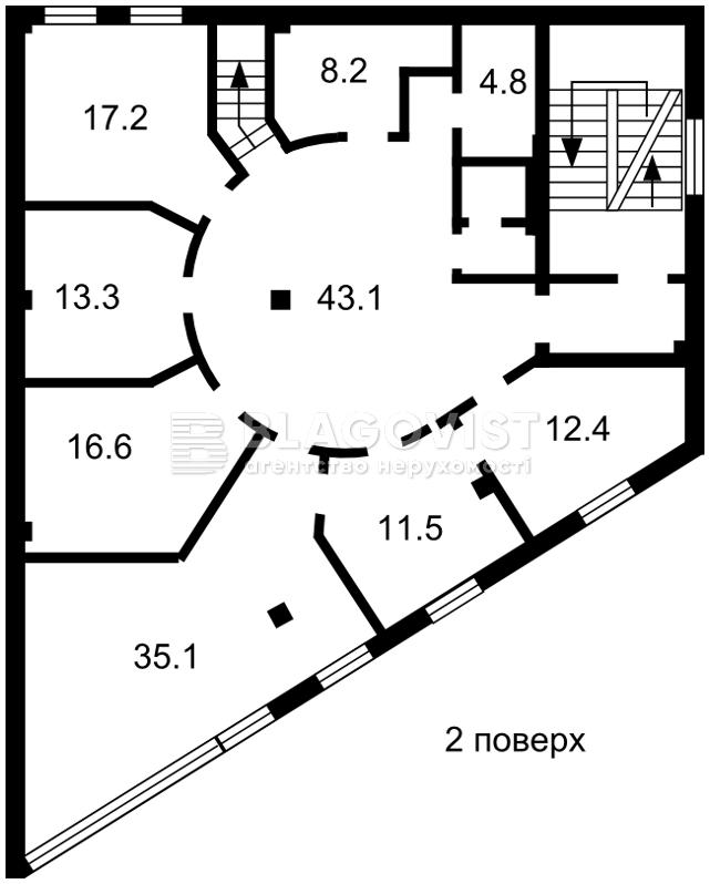 Торгово-офисное помещение, M-37886, Бажана Николая просп., Киев - Фото 3