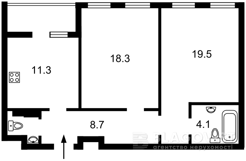 Квартира Z-688735, Победы просп., 72, Киев - Фото 4