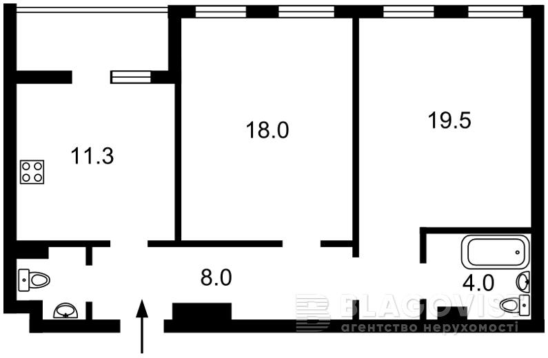 Квартира F-43730, Победы просп., 72, Киев - Фото 2