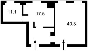 Нежилое помещение, Бульварно-Кудрявская (Воровского) , Киев, R-31567 - Фото 2