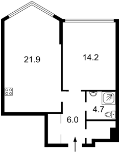 Квартира Вышгородская, 45, Киев, A-111368 - Фото2