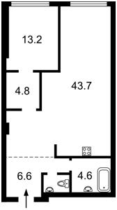 Квартира Победы просп., 55а, Киев, Z-700742 - Фото2
