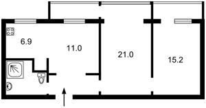 Квартира F-43727, Шмідта Отто, 35/37, Київ - Фото 3