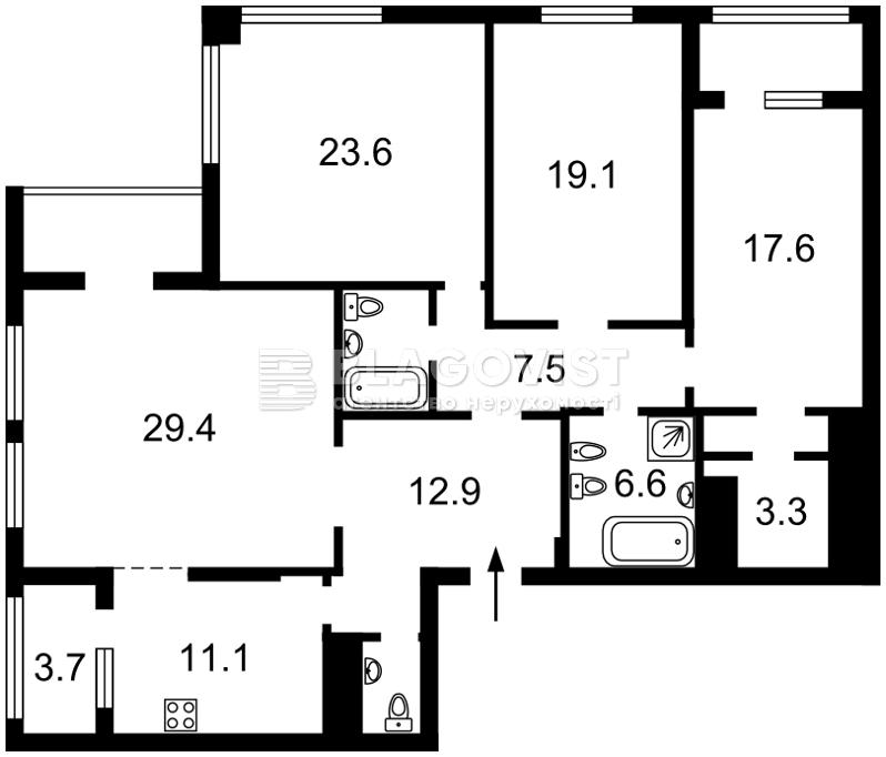 Квартира H-48158, Срібнокільська, 3а, Київ - Фото 6