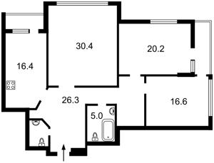 Квартира Кольцова бул., 14з, Київ, R-34930 - Фото 2