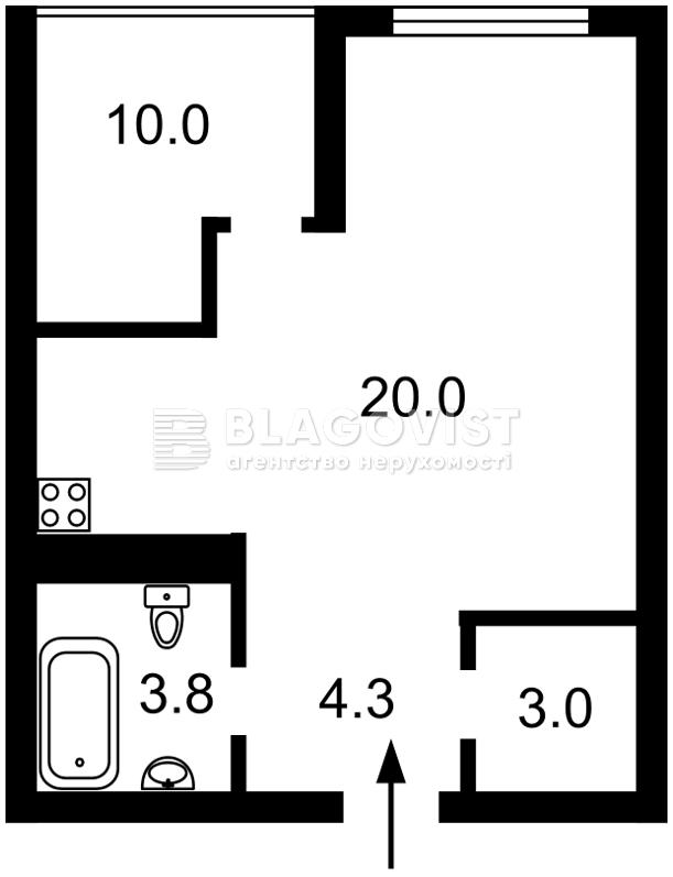 Квартира P-28681, Бендукидзе Кахи, 2, Киев - Фото 6