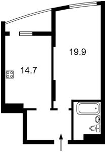 Квартира Харьковское шоссе, 210, Киев, Z-693626 - Фото2