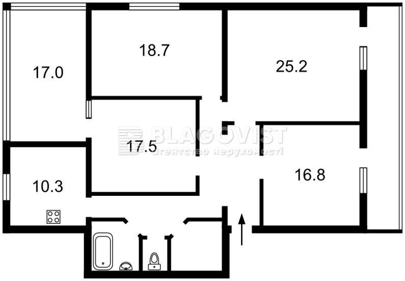 Квартира R-35156, Большая Васильковская, 30, Киев - Фото 2