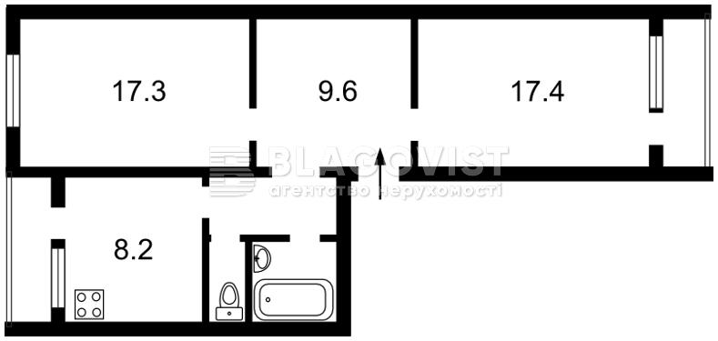 Квартира Z-710864, Лисковская, 14, Киев - Фото 4