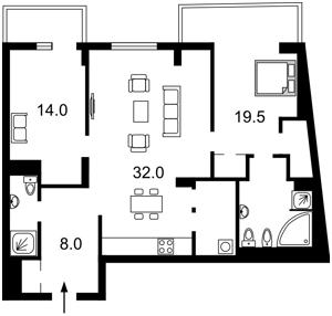 Квартира Гоголівська, 43, Київ, H-48044 - Фото2