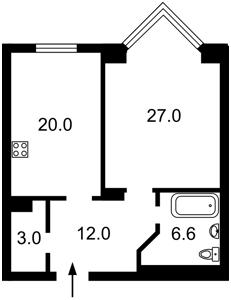 Квартира F-43725, Драгомирова, 14а, Київ - Фото 4