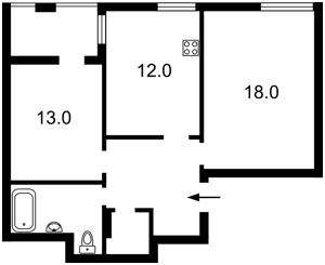 Квартира Липи Юрія, 6, Київ, R-35075 - Фото2