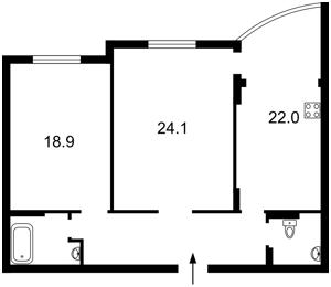 Квартира Дмитриевская, 69, Киев, Z-702034 - Фото 2