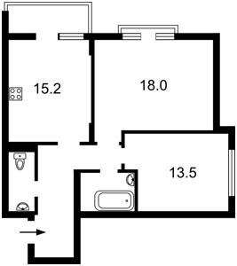 Apartment Demiivska, 18, Kyiv, M-37997 - Photo2