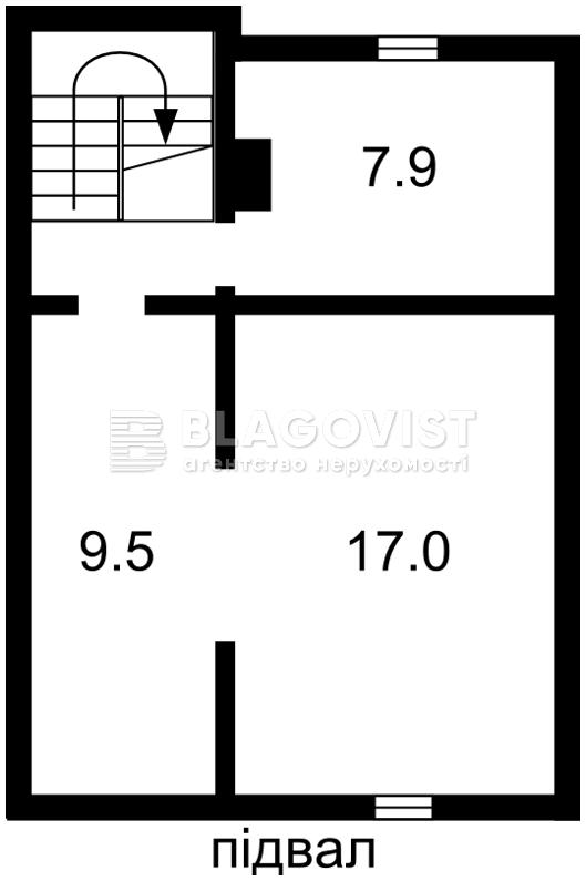 Будинок A-111559, Чорнобильська, Білогородка - Фото 2