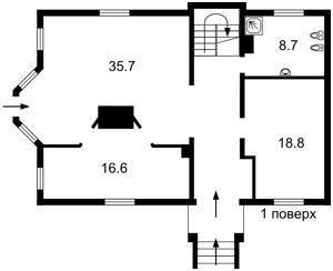 Будинок A-111559, Чорнобильська, Білогородка - Фото 3