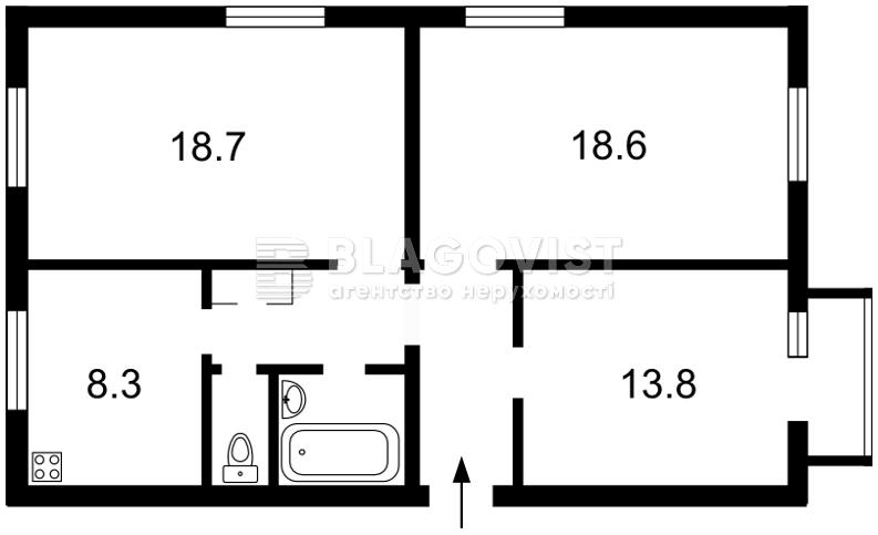 Квартира Z-698173, Дружби Народів бул., 7, Київ - Фото 4