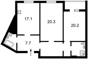 Квартира Леваневского, 6, Киев, R-35224 - Фото2
