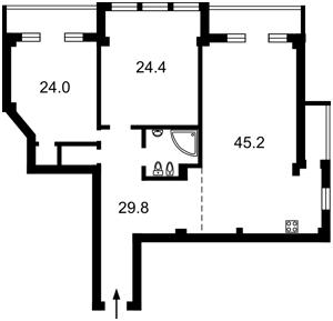 Квартира E-40145, Народного Ополчения, 7, Киев - Фото 3