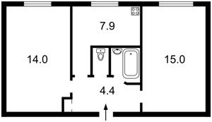 Квартира Джона Маккейна (Кудри Ивана), 42, Киев, P-28335 - Фото2