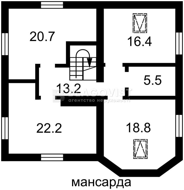 Дом F-43900, Чумацкая, Гатное - Фото 6
